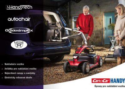 Úpravy pro nakládání vozíku