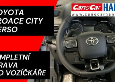 Komplexní úprava Toyoty Proace City