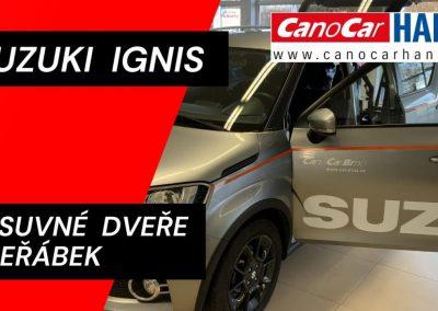 Úpravy pro ztp v Suzuki Ignis