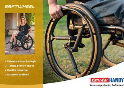 Kola k vozíku Softwheel