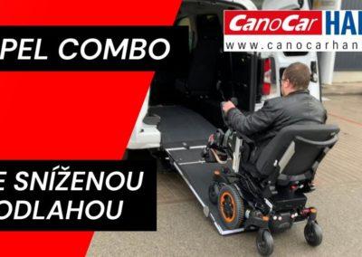 Opel Combo se sníženou podlahou